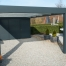 Newly installed carport