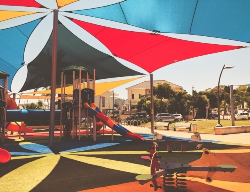 For the Ultimate Protection, Cover Your Playground with Shade Sails This Summer